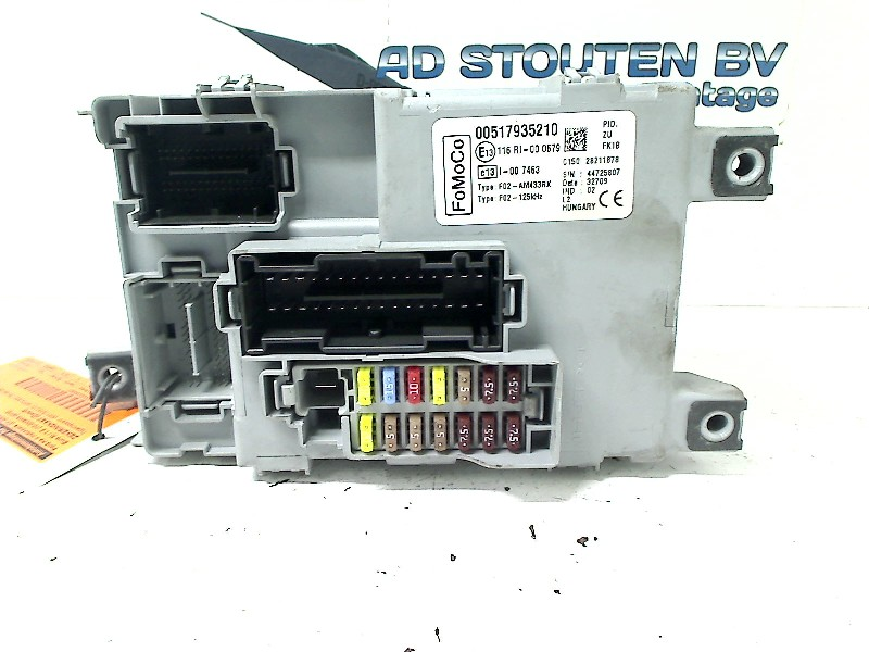 Fuse Box Ford Ka II Hatchback 1.2 (Euro 5)) (00517935210 ... Ka Car Fuse Box on car fan blade, car resistor box, 1999 mazda 626 relay box, car fuel line, car belt tensioner, car resistance box, car ac fuses, car frame, car steering shaft, car battery, car glove box, car switch box, car tool box, car ignition lock, car wiring harness box, car breaker box, car fuel pump, car starter box, 2014 impala brain box, circuit breaker box,