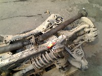Cadillac CTS II Sedan 3.6 V6 24V (LFX) DRIVE SHAFT LEFT REAR 2010