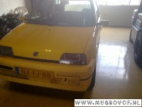 Fiat Cinquecento Hatchback 1.1i Sporting (176.B.2000) WINDOW MECHANISM LEFT FRONT 1994